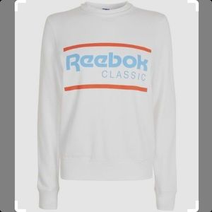 Reebok Classic Cropped Crewneck Sweatshirt